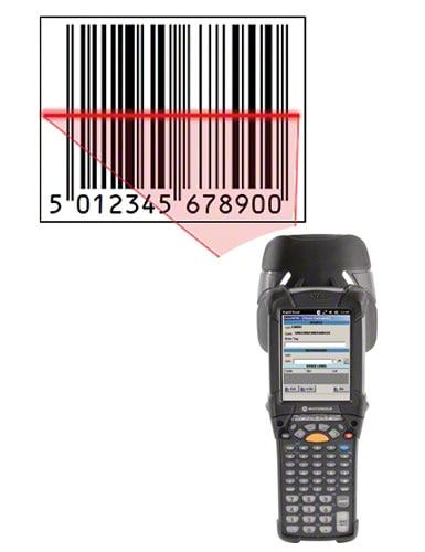 A leitura do código de barras agiliza os processos de identificação