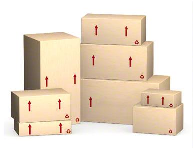 A própria caixa da embalagem enviada pelo produtor
