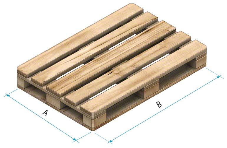 Palete de madeira tipo 2