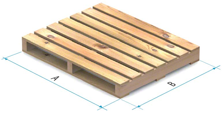 Palete de madeira tipo 3
