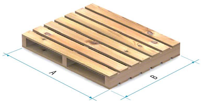 Palete de madeira tipo 4