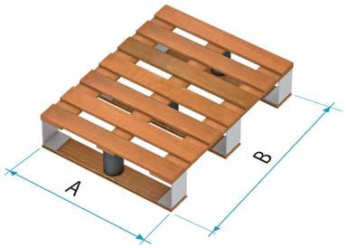palete de madeira tipo 5A