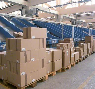 Classificação de encomendas por cliente ou rota