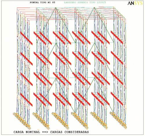 O pavimento de um armazém tem que ser capaz de poder suportar de sete a oito toneladas em um espaço de 80 ou 100 cm2