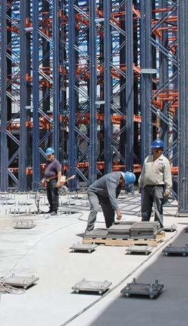 Análise do pavimento no processo de construção de um armazém