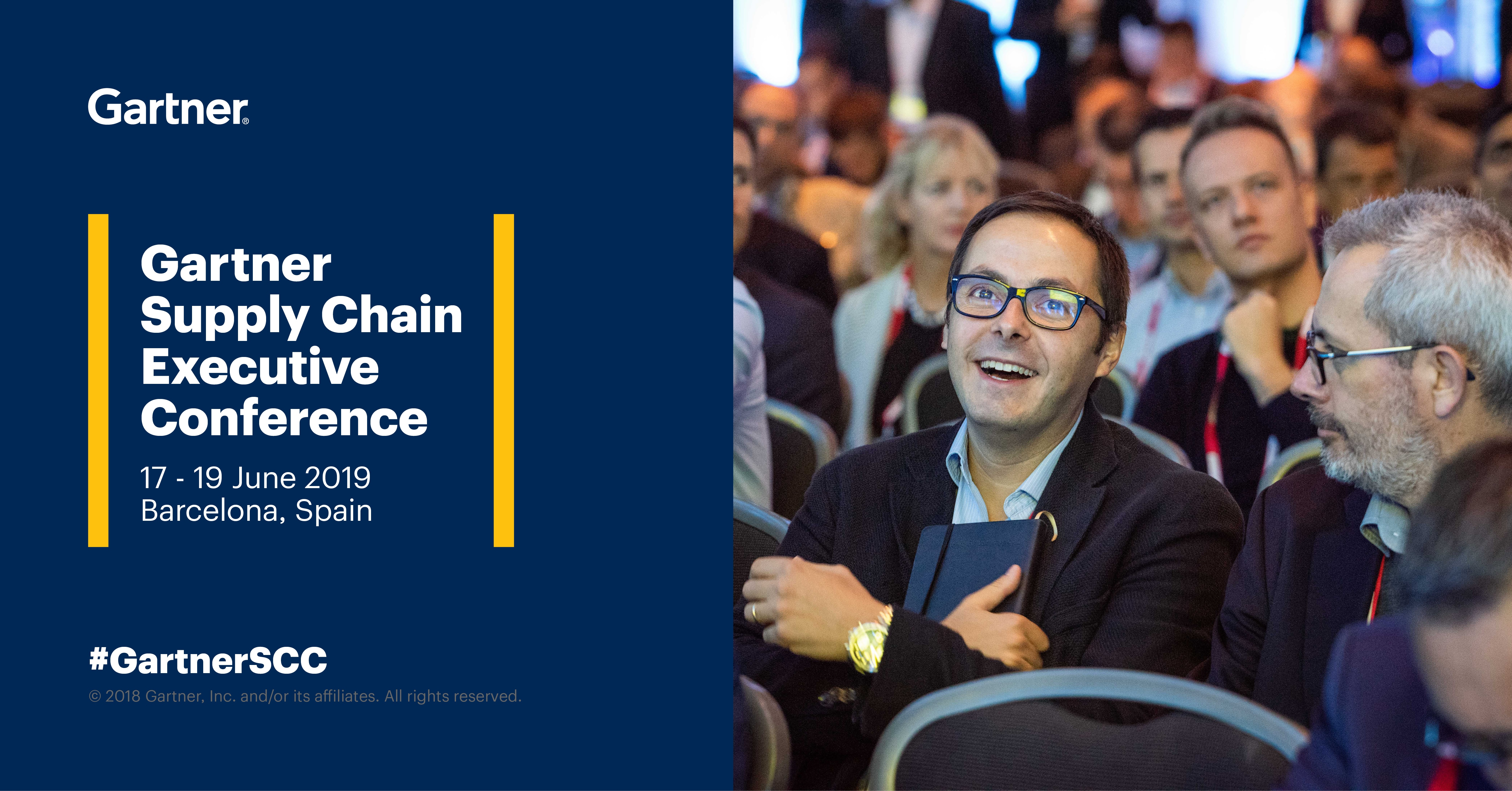 Mecalux participa na Gartner's Supply Chain Executive Conference 2019