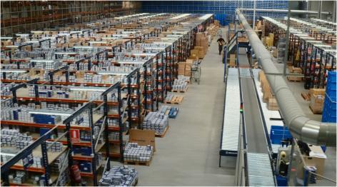 Cofan - Remodelação logística armazém no setor de fornecimento industrial, ferragens e bricolagem