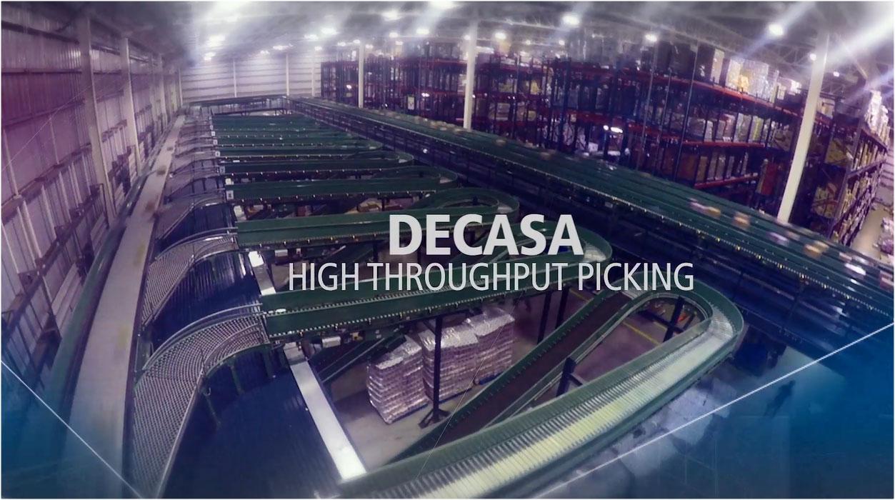 DECASA: Armazenamento e picking de alto desempenho