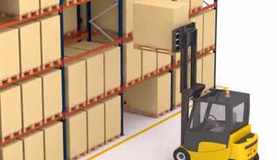Estante convencional para paletes: a armazenagem mais versátil