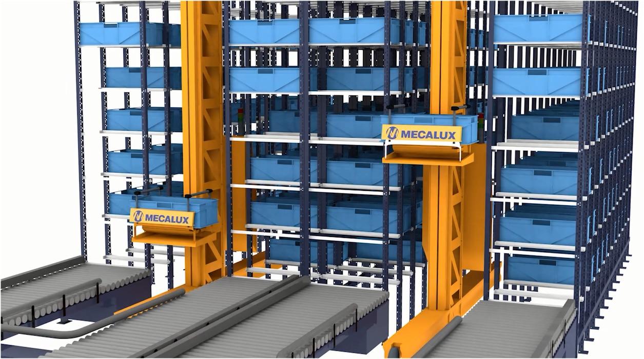 Miniload: Armazém automático para cargas leves