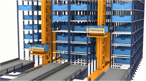 Miniload – Armazém automático para cargas leves