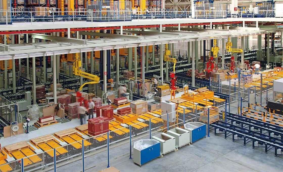 Diferentes sistemas permitem automatizar os processos do armazém que tenham relação com a preparação de pedidos