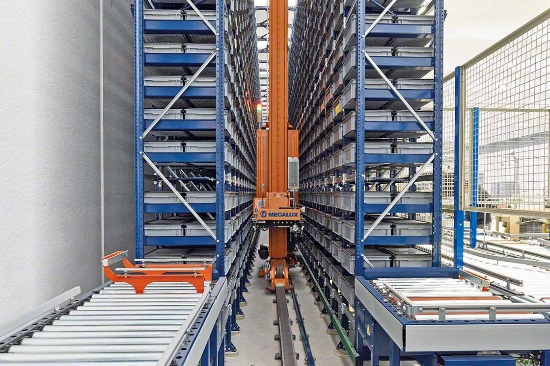 O investimento em sistemas automáticos faz parte dos custos de armazenagem das instalações