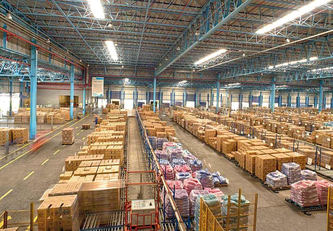 O grupagem de mercadorias é uma estratégia destinada a otimizar o espaço de armazenagem