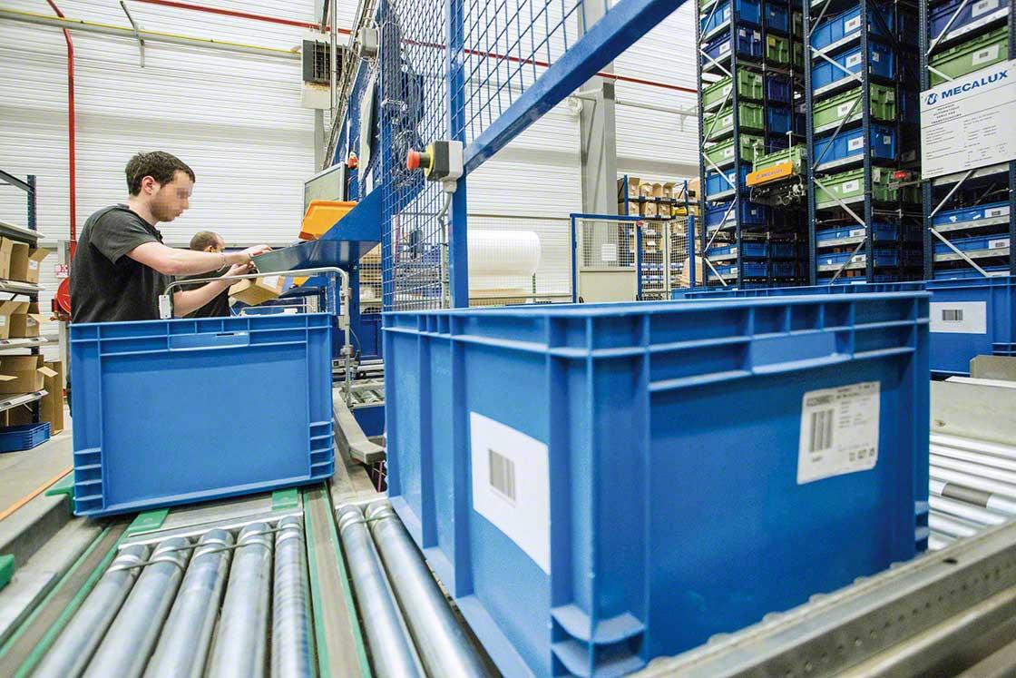 O WMS facilita o processo de reetiquetagem das devoluções no e-commerce e atribui novas localizações