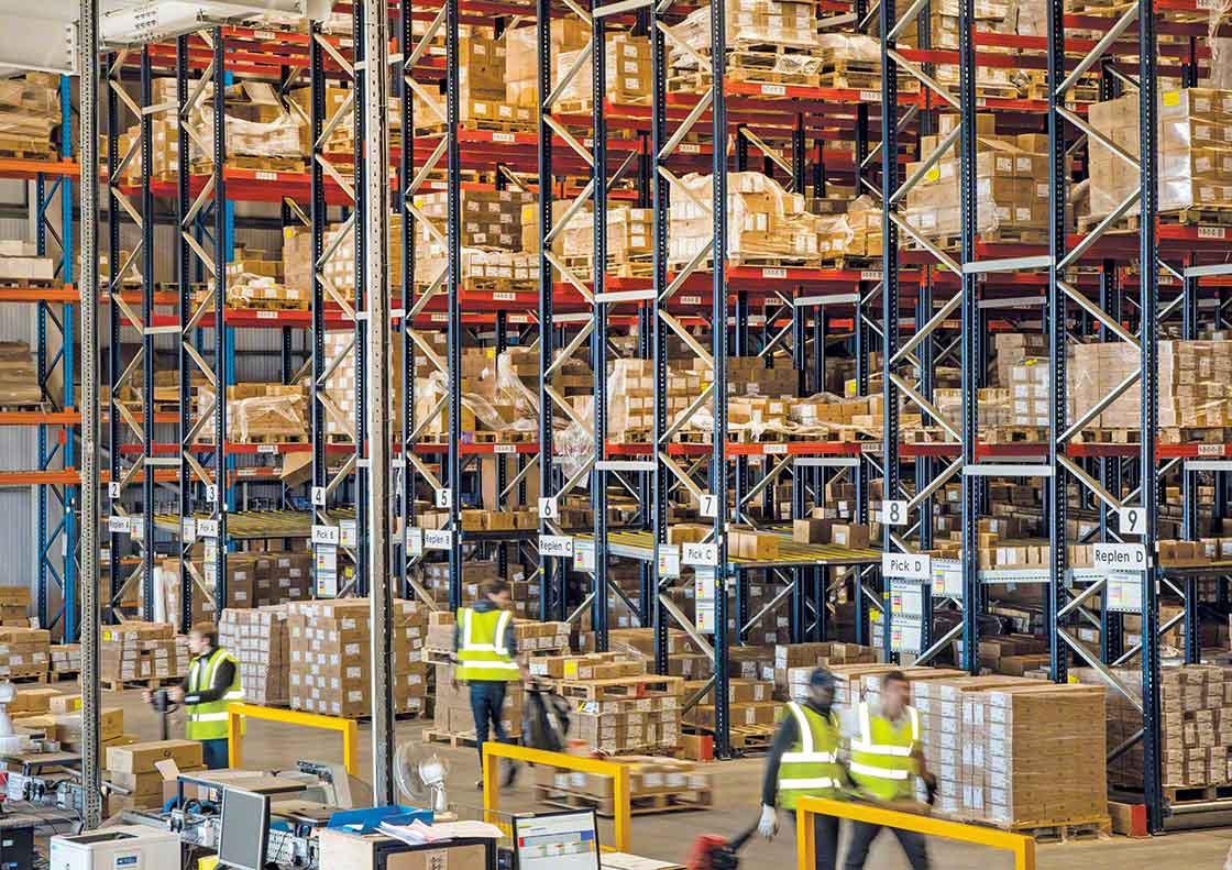 O stock de segurança em excesso pode ocupar um espaço muito valioso no armazém
