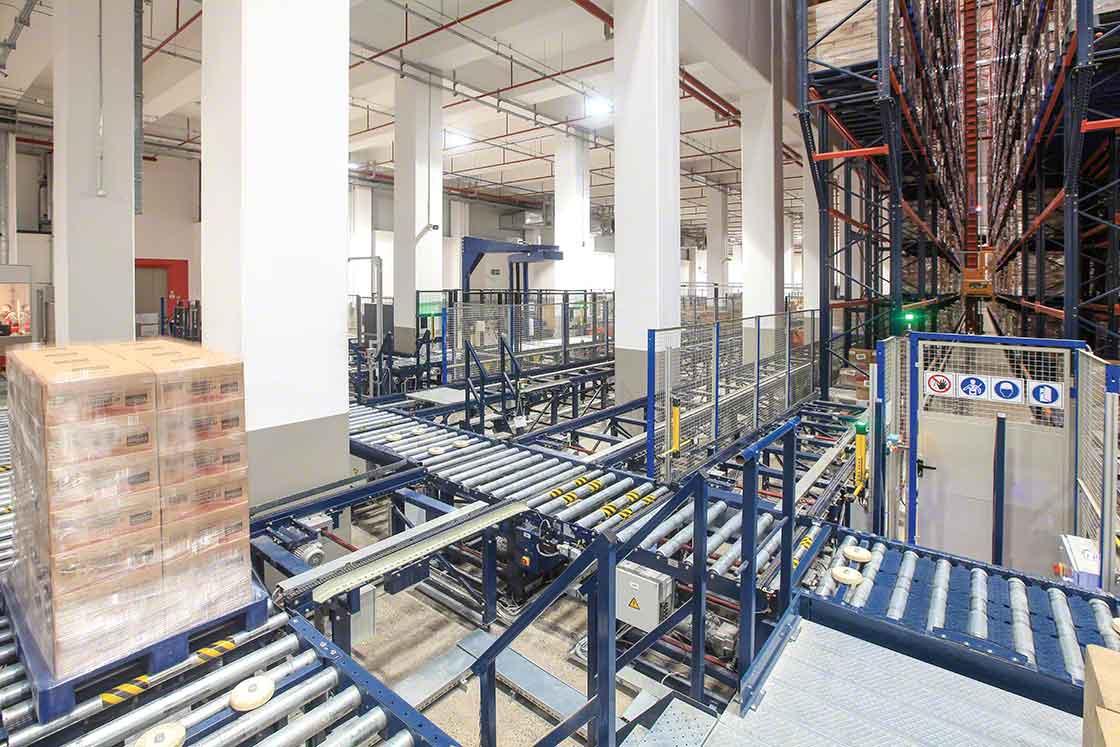 A automatização do transporte de cargas permite reduzir os 'lead time' e melhorar o cálculo de stock de segurança