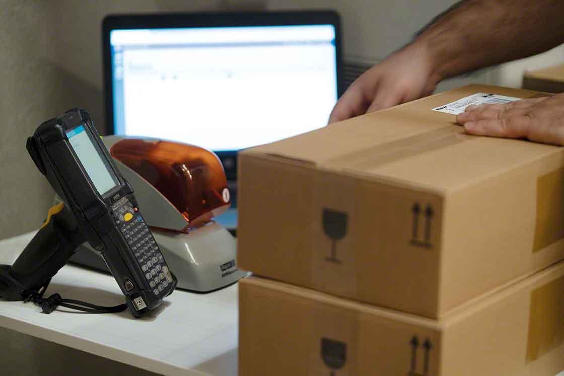 O WMS integra uma enorme quantidade de informação crucial para a gestão da logística interna