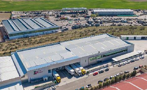 Máxima capacidade e rentabilidade no armazém da Cárnicas Chamberí