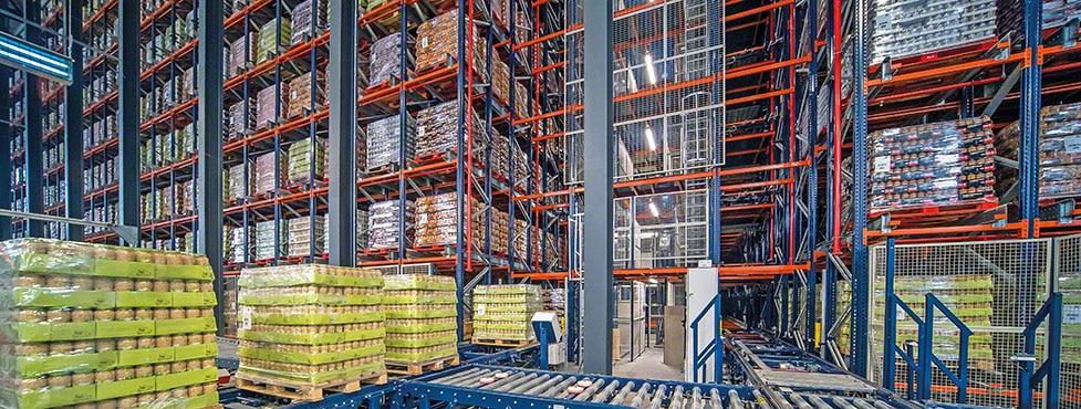 Gestão eficiente das leguminosas em conserva da Cistér com um novo armazém