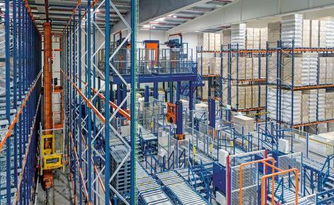 Automatização no armazém de Laboratorios Maverick