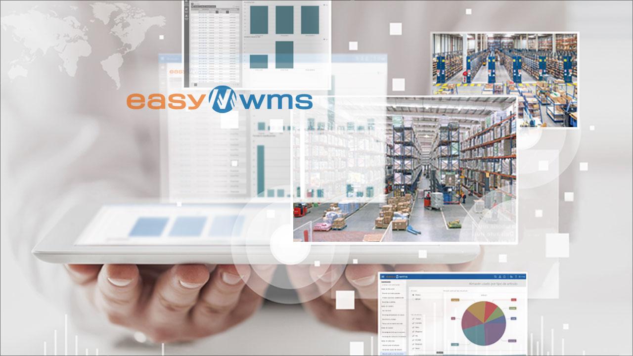 Easy WMS. O software logístico criado por peritos em armazenagem